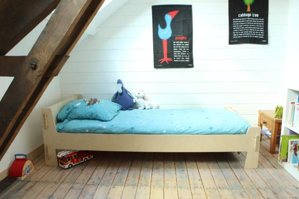 lit enfant chambre bois