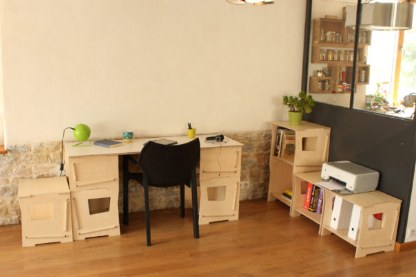 bureau composable rennes