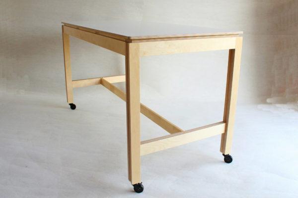 table restauration stratifie bois